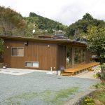 平屋・木材外壁・外観