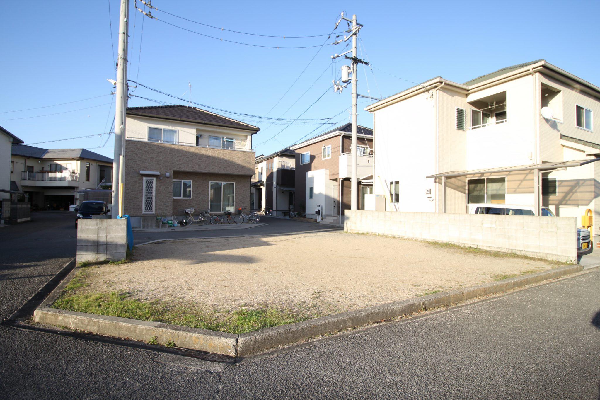 愛媛県松山市堀江町売土地現地写真