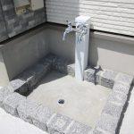 外部水栓・石・ブロック