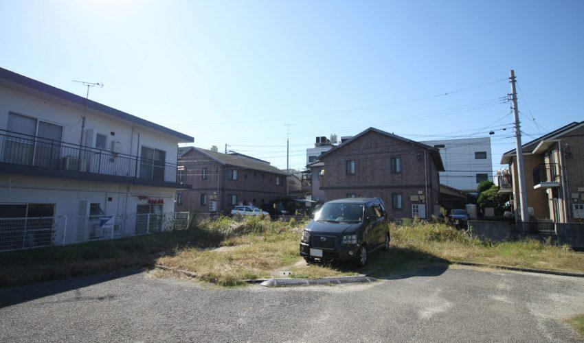 愛媛県松山市久万ノ台注文住宅建築用地現地写真