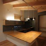 コの字製作キッチン