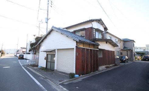愛媛県松山市勝岡町注文住宅建築用地現地写真