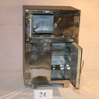 昭和レトロ アンティーク 氷式冷蔵庫 収納ケース 写真