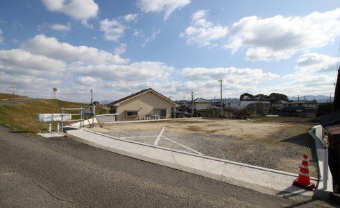 伊予郡松前町西高柳注文住宅建築用地現地写真