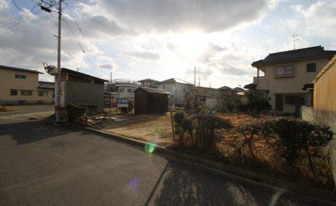愛媛県松山市堀江町注文住宅建築用地現地写真