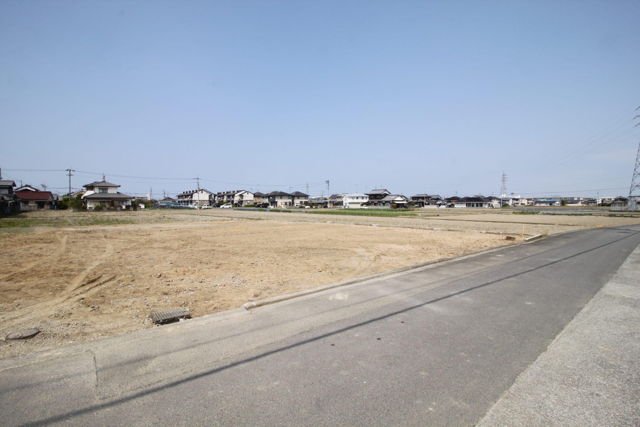 愛媛県伊予市下吾川解体後写真