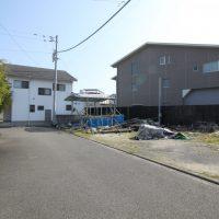 愛媛県松山市辰巳町注文住宅建築用地写真