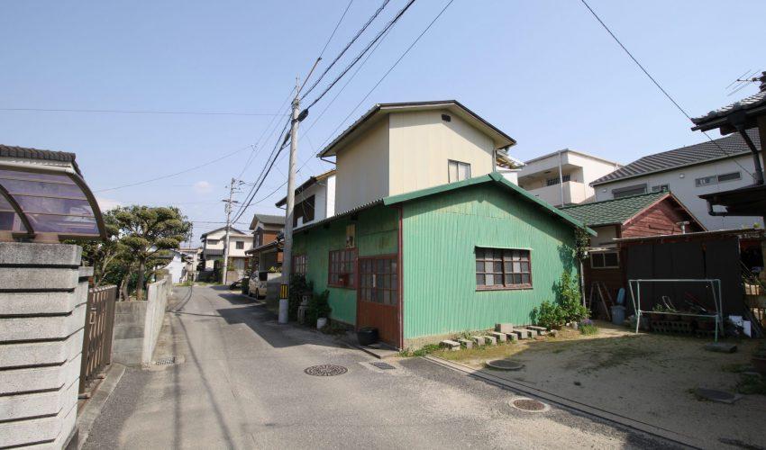 愛媛県松山市土居田町注文住宅建築用地写真