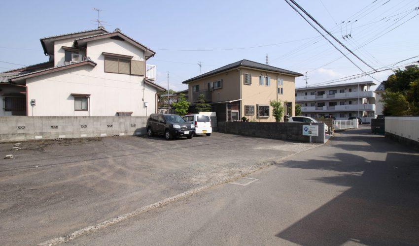 愛媛県松山市北久米町注文住宅建築用地写真