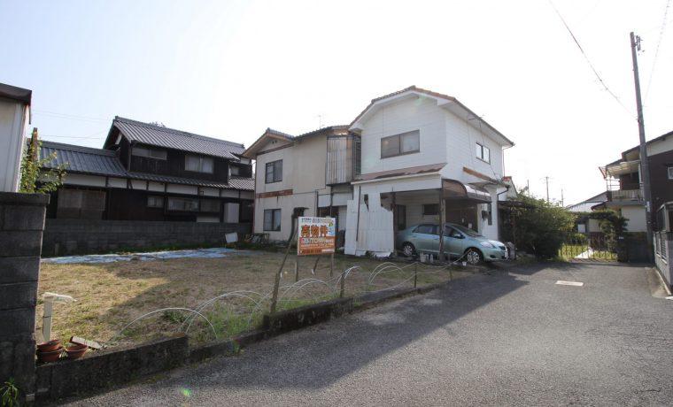 愛媛県松山市堀江町注文住宅建築用地写真