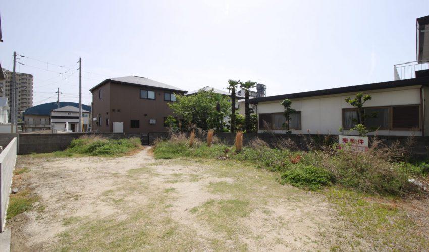愛媛県松山市余戸東4丁目注文住宅建築用地写真