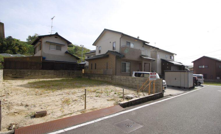 愛媛県伊予郡砥部町宮内注文住宅建築用地写真
