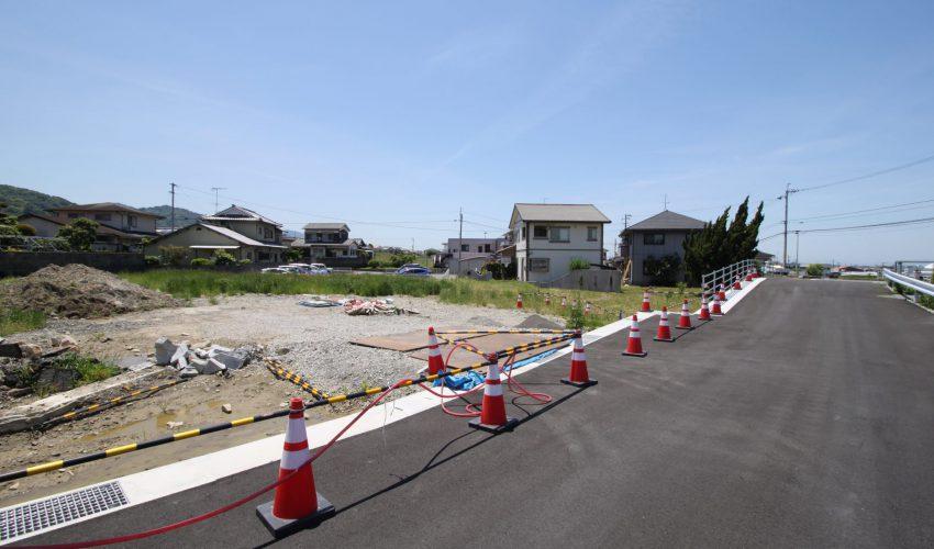 伊予市上野新規分譲地写真