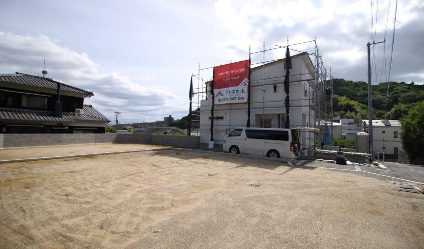 愛媛県松山市祝谷5丁目注文住宅建築用地写真