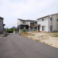 愛媛県伊予郡砥部町麻生注文住宅建築用地写真