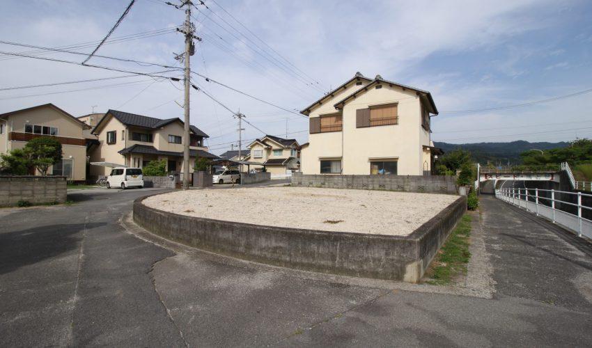 愛媛県松山市粟井河原注文住宅建築用地写真