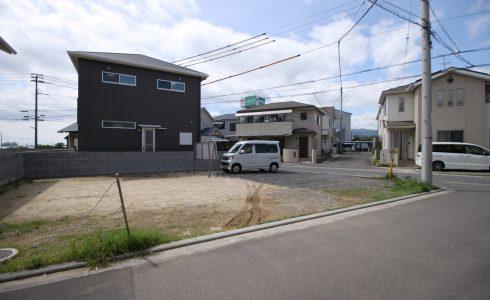 愛媛県東温市田窪注文住宅建築用地写真