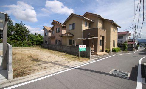 愛媛県松山市南梅本町注文住宅建築用地写真