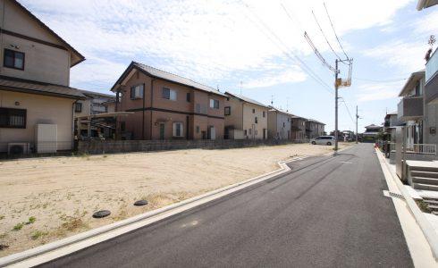 愛媛県松山市富久町注文住宅建築用地写真