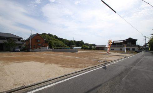 愛媛県松山市福角町注文住宅建築用地写真