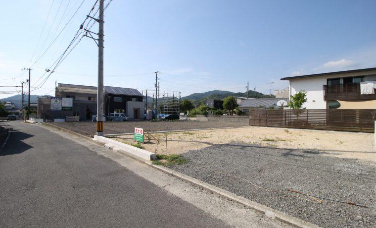愛媛県松山市平井町注文住宅建築用地写真