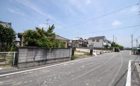 愛媛県伊予郡松前町鶴吉注文住宅建築用地写真