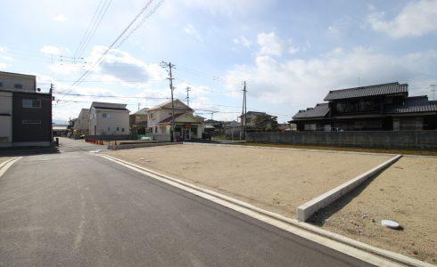 愛媛県伊予郡松前町筒井注文住宅建築用地