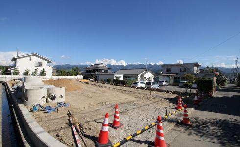 愛媛県松山市南梅本町注文住宅建築用地