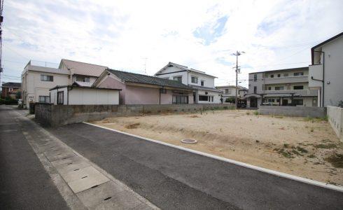 愛媛県松山市土居田町注文住宅建築用地