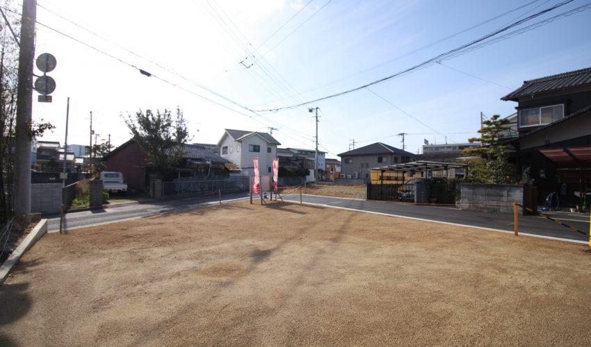 愛媛県松山市古三津3丁目注文住宅用地