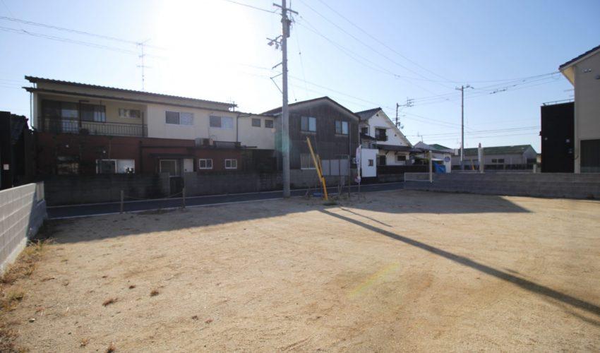 愛媛県松山市北条辻注文住宅用地