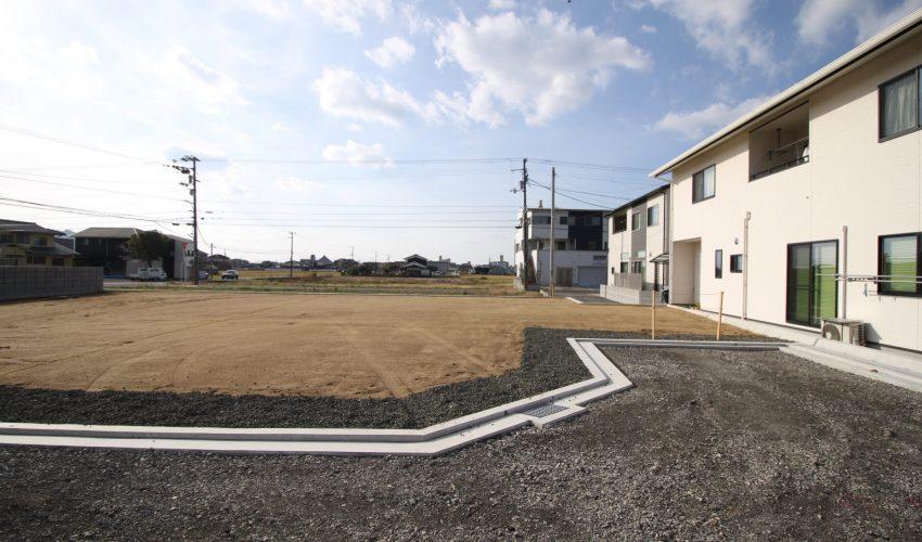 愛媛県松山市来住町注文住宅用地