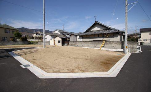 愛媛県東温市北方注文住宅用地