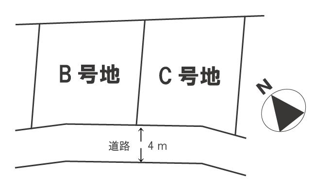 高岡・区画図