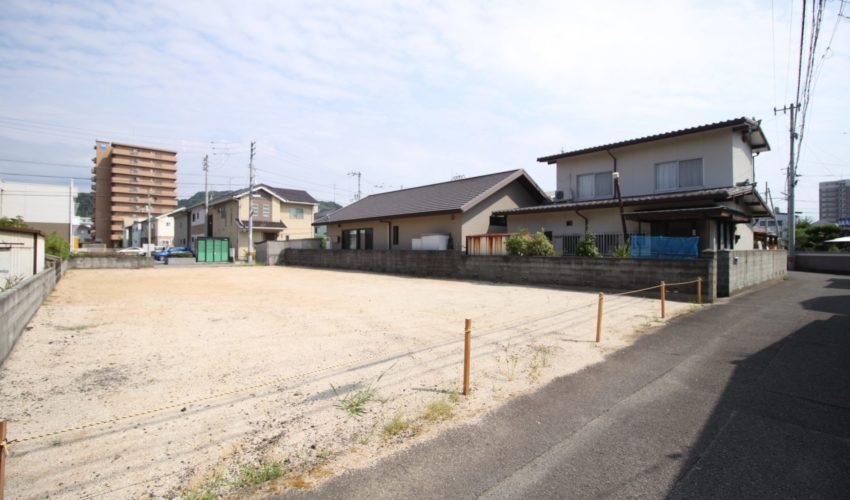 愛媛県松山市東長戸1丁目注文住宅用地