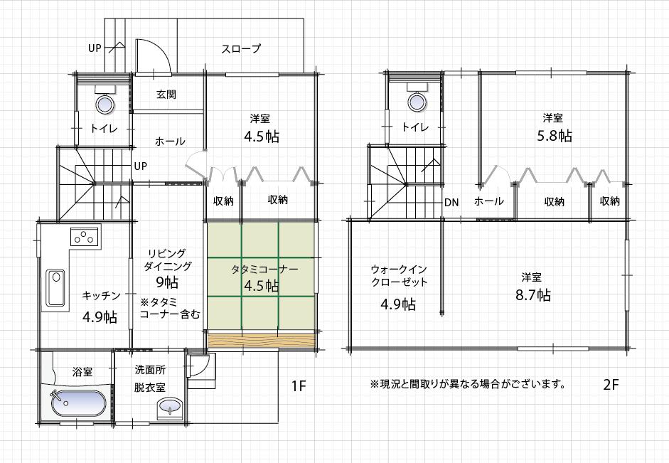 東垣生-3LDK-間取り