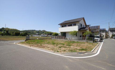 愛媛県松山市西長戸町注文住宅用地
