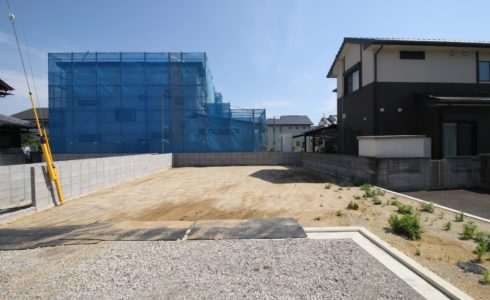 愛媛県松山市市坪北2丁目注文住宅用地