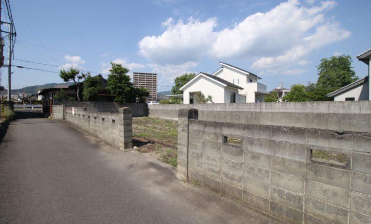 愛媛県松山市水泥町注文住宅用地